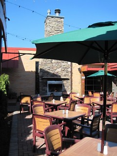 Patio of Grand Woods Lounge