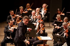 Jacomo Bairos is artistic director of the cutting-edge, chamber orchestra Nu Deco Ensemble in Miami.