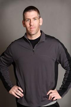 Jason Robillard, author and barefoot runner