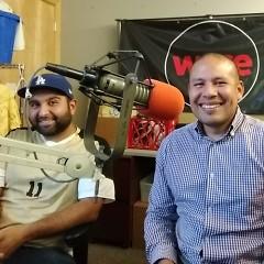 Jose Jimenez and Serio Cira Reyes from Movimiento Cosecha GR