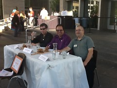 Judges Torrance O'Haire, John Gonzalez and Chris Freeman.