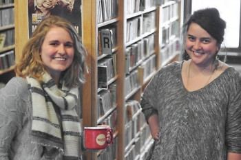 Katie Gordon and Jess Young, two of the producers for Catalyst Radio