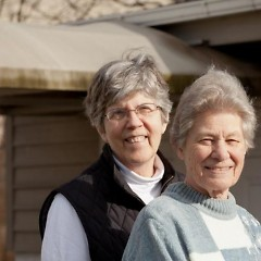 Ardeth Platte and Carol Gilbert, Roman Catholic Dominican sisters