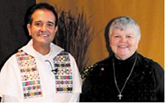 Father James Marchiona, OP and Sister Ann Willits, OP.