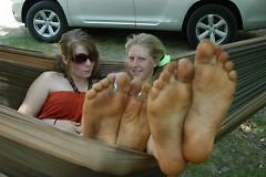 Megan Brown with Wilhemina Witt