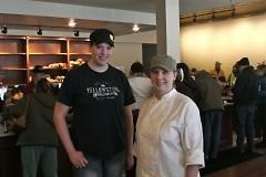 Pastry chefs Laura Van Harten and Melissa Nettles