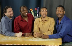L-R: Chip DuFord, Trequon Tate, Simeon Rawls, Paul Williams.