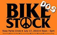 Bikestock Dos will take place July 17 at Rosa Parks Circle.