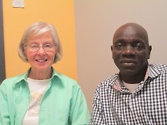 Robert and his tutor, Nancy Hollowell, have been meeting together since November 2013.
