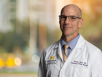 Timothy Daum, MD: Pulmonologist and Medical Director of Sleep Medicine