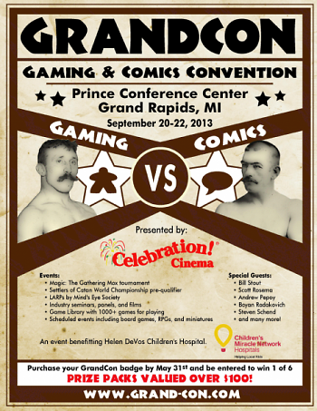 GrandCon promotional poster