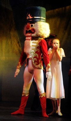 Clara and the Nutcracker.