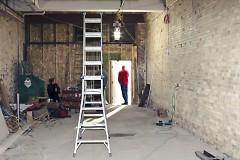 Osteria Rossa under construction