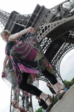 Megan Brown, traveling in Europe after her memory loss