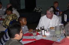 Lee Scott at BGC's annual Steak & Burger Dinner 2009.