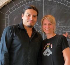 Marcos Bulnes Medina and Mary Rose