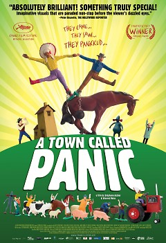 flier for A Town Called Panic