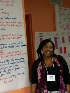 Tequita Culbreath, Parent Leader in Parents for Healthy Homes with her vision for her community