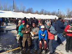 Members of PCBG at the 2014 Winter Beer Festival.