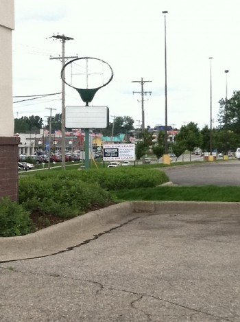Days after closing all Perkins signs were removed, and now buildings are up for new leases.