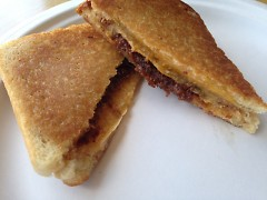 A Moveable Feast's Bacon Jam Grilled Cheese