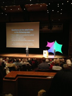 W. Dwight Armstrong spoke at Calvin College's January Series