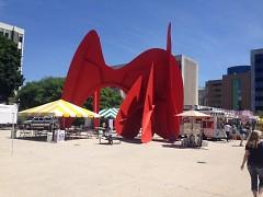Calder Plaza hosted West Michigan Pride Festival