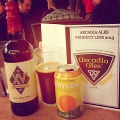 Arcadia Ales Kegs and Eggs breakfast
