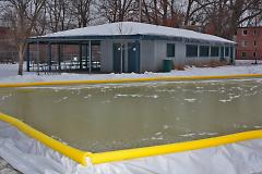 Wilcox Park ice rink