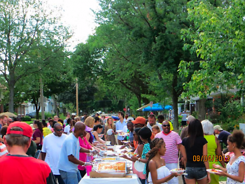 Thomas street block party