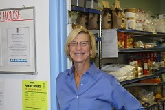 PJ Hefferan is the food pantry coordinator at NECM.