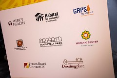 The 8 partners are focusing on providing affordable housing, education, healthcare, and community spaces.