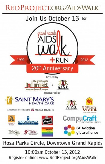 The Red Project's 2012 Aids Walk Grand Rapids