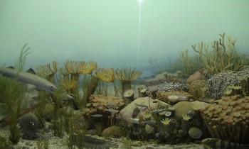 Michigan during the Paleozoic Era