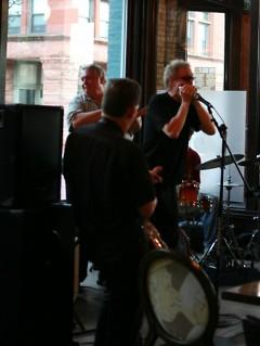 Randy Marsh on jazz harmonica.