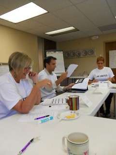 Jill Harkema, Safe Haven Executive Director; Carey Bisonet, Advisory Council Chair; Julie DeBoer, RaiseHope Coordinator