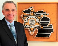 Republican candidate and incumbent Kent County Sheriff, Lawrence Stelma.