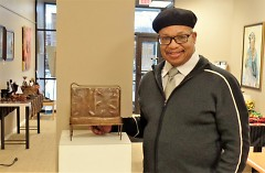 """George Bayard III, a mentor and GRABB award winner who """"builds the cultural, social and artistic scene in GR"""" (GRABB)"""