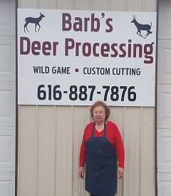 Barb Haveman, 81, has participated in the Michigan Sportsmen Against Hunger since its 1991 inception.