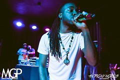 Shamar Alef performing/winning the Hip Hop Heavy Weights Competition at the Stache/Intersection, May 8th, 2015.