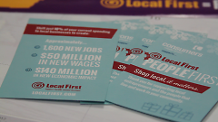 Shop local with Local First this holiday season.