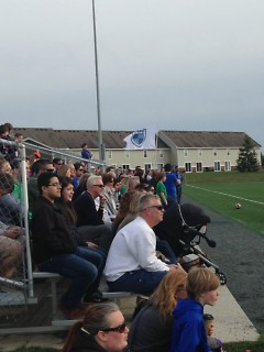 The stands during the GRFC vs. GVSU exhibition match