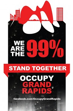 Occupy Grand Rapids Flier