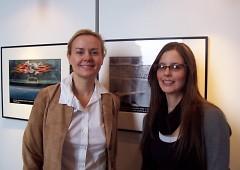Zora Carrier and Bridgette Broughman
