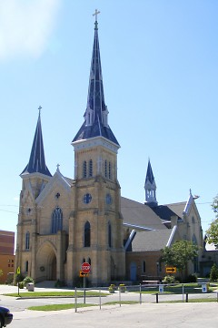 Picture taken of St. Andrew's Cathedral as it looks today