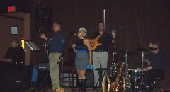 """The Steve Hilger Band playing """"At Last"""" with Stephanie Sallie on vocals"""
