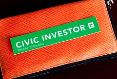 Civic investor sticker