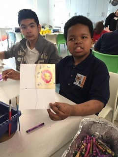 Students Participating in ACTion Art Education Days