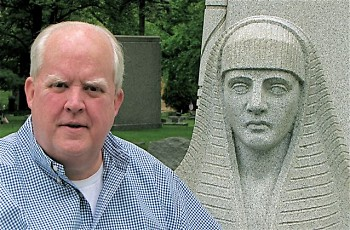 Thomas R. Dilley, author, historian and retired attorney, will lead the free walking tour of Oakhill Cemetery