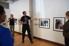 Tom Olin explains his experiences and social documentation of the disability rights movement